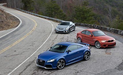 2012 Audi TT RS vs #2012 #audi #tt #rs, #2011 #bmw #1-series #m #coupe, #2011 #infiniti #ipl #g #coupe, #coupe, #sport #coupe http://san-francisco.remmont.com/2012-audi-tt-rs-vs-2012-audi-tt-rs-2011-bmw-1-series-m-coupe-2011-infiniti-ipl-g-coupe-coupe-sport-coupe/  # 2012 Audi TT RS vs. 2011 BMW 1-series M Coupe, 2011 Infiniti IPL G Coupe We found a map of the Tail of the Dragon, a roadway at the extreme eastern edge of Tennessee, that included helpful arrows and notations for each of the…