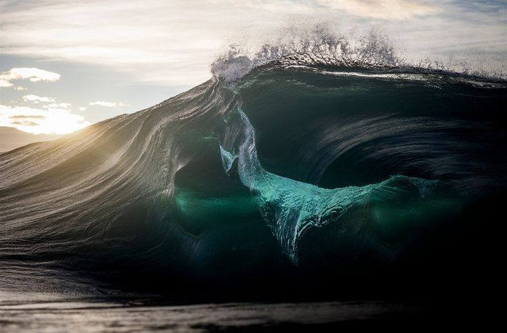 Mořská vlna jako emoce
