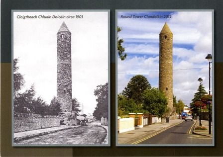Round Tower, Clondalkin - Local Studies Collection, South Dublin Libraries