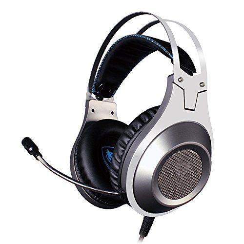 News Videos & more -  Video Games & more - NUBWO Gaming Headset PC PS4 Xbox One Stereo Game Headphones with Microphone Mute & Volume Control (Silver 3.5mm Jack) #Video #Games #Music #Videos #News Check more at http://rockstarseo.ca/video-games-more-nubwo-gaming-headset-pc-ps4-xbox-one-stereo-game-headphones-with-microphone-mute-volume-control-silver-3-5mm-jack-video-games/