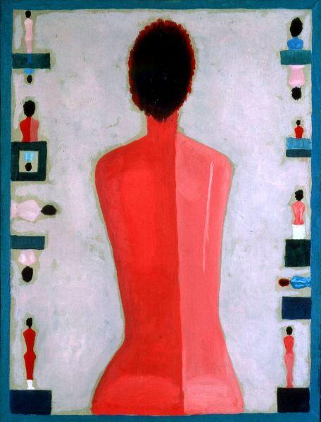 Półakt tyłem, 1984