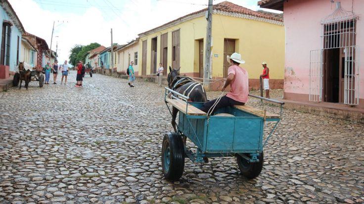 Pferdekutschen in Trinidad Kuba