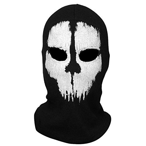scary mask halloween costumes call of dudy ghost skull mask balaclava ski protective