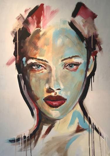 """Saatchi Art Artist Joost Verhagen; Painting, """"Reflections of Rio"""" #art"""