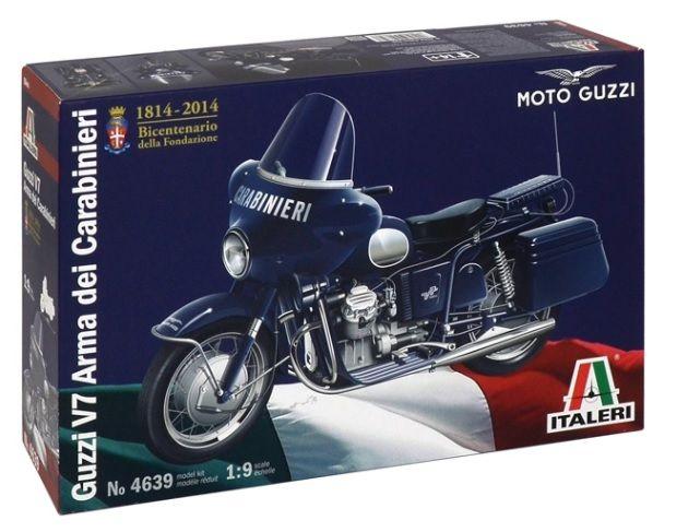 Italeri 4639 Moto Guzzi V7 Carabinieri