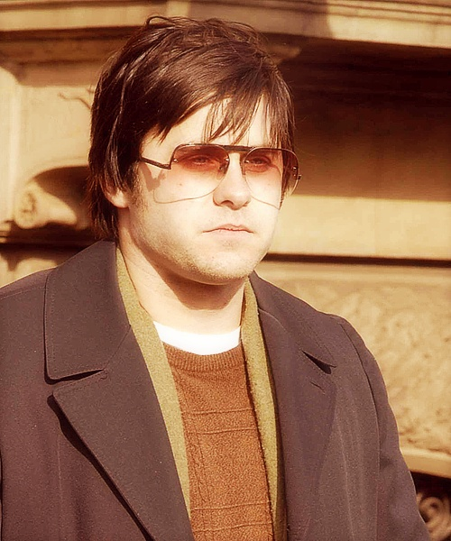 "Jared Leto as Mark David Chapman in ""Chapter 27"". Yes, he really gained about 60 lbs."