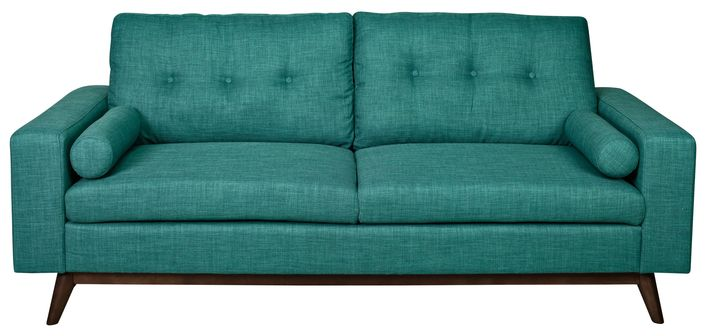 Contemporary, modern Furniture : Sofas + Sectionals, Brighton Sofa - Turquoise from Urban Barn to complement your style.