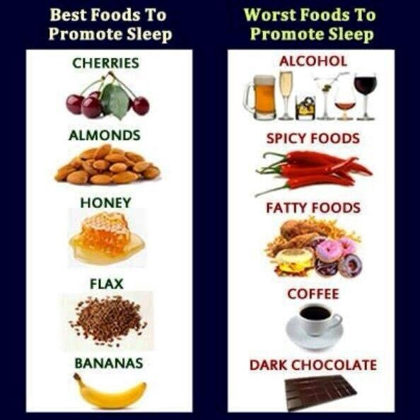 What Natural Foods Help A Person Sleep