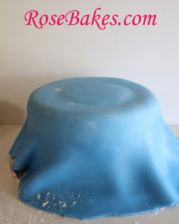 Working with fondant:  Part 1