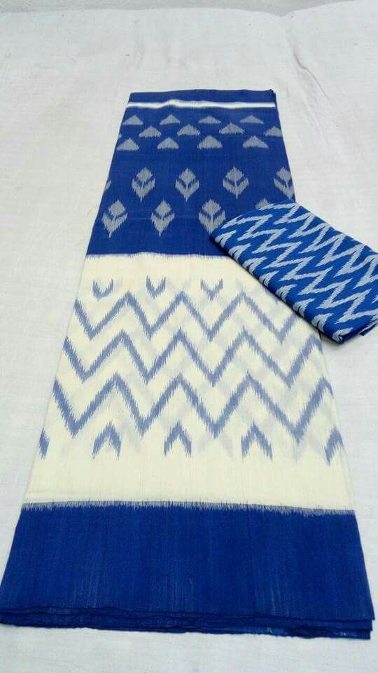 Double ikkat cotton sarees Order what's app 7995736811