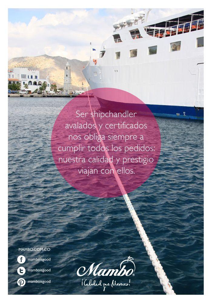 Operadores portuarios Mambo Cartagena de Indias
