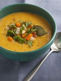 Soupe aux 7 légumes - Recette de cuisine Marmiton : une recette