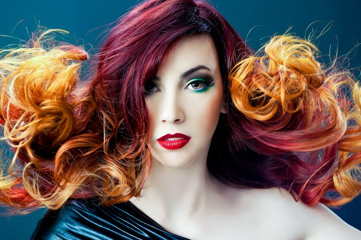 Red-to-yellow-ombre-hair-2.jpg 800×532 Pixels