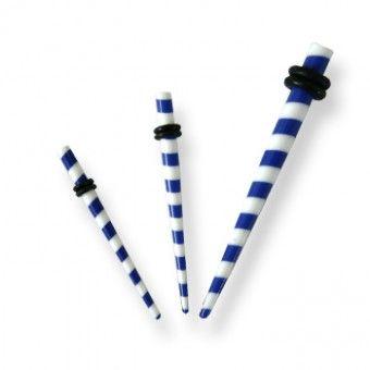 Écarteur Acrylique Bleu - Candy - 2mm à 3mm