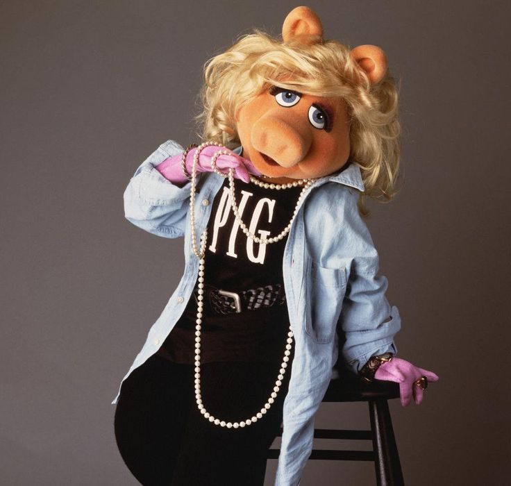 Take it from moi: One must always be prepared to dazzle. You never know when the world could use a little more sparkle. Miss Piggy, December 2016