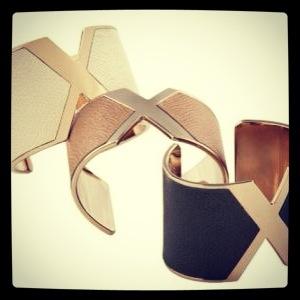 Valextra V cuff bracelets - So gorgeous !