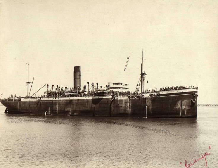 "Charles James Tilbey b1878 was ships grocer in 1939 on the passenger cargo vessel ""S.S. Raranga"", built in 1916 at Newcastle by Armstrong Whitworth & Co for Shaw Savill & Albion Co Ltd. A Steel twin screw steamer. Tonnage: 10.040 gross Dimensions: length 478'0"", breadth 63'2"", draught 31'2"" Official Number: 135699 Port Of Registry: Southampton."