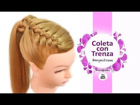 the 25+ best peinados trenzas para niña ideas on pinterest