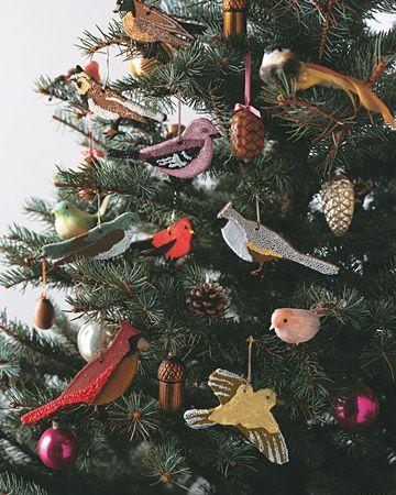 Cinnamon Bird Ornaments