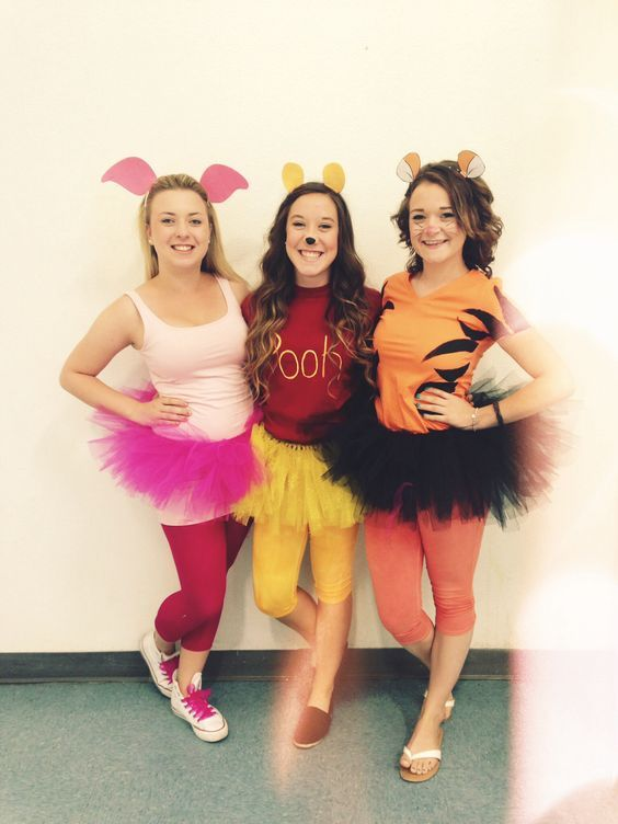winnie the pooh costumes - Easy Homemade Halloween Costumes For Teenage Girl