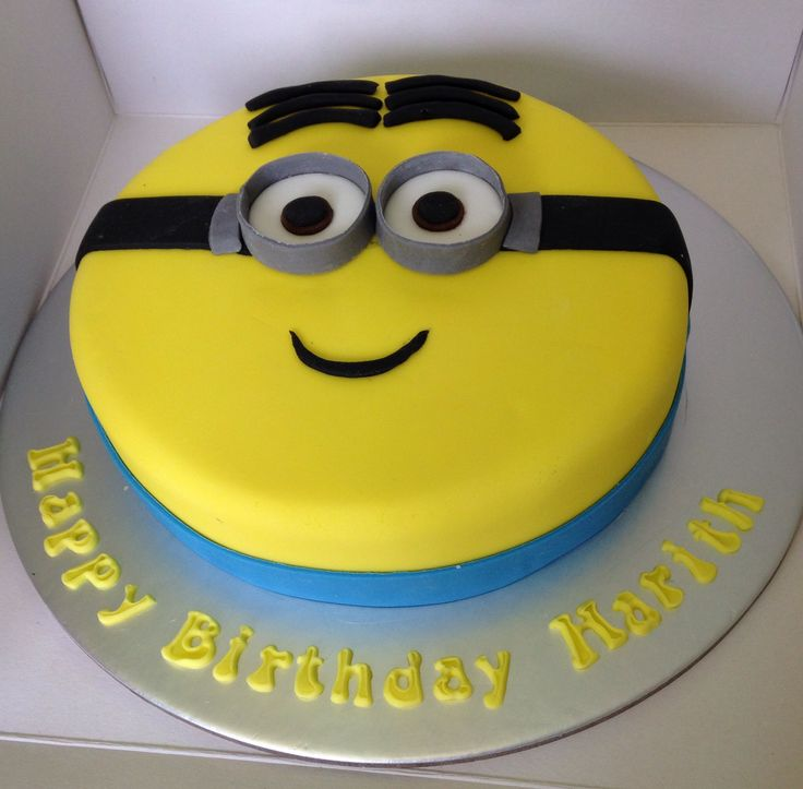Small minion cake