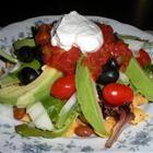 Taco Salad Recipe: Tacos Salad Recipes, Taco Salad Recipes, Salad Allrecipescom, Recipes Healthy, Salad Vegetarian, Taco Salads, Photo, Vegetarian Tacos, Salad Allrecipes Com
