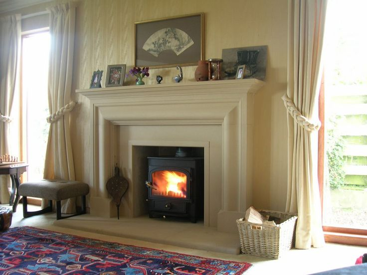 Frazier fireplace with Clearview stove