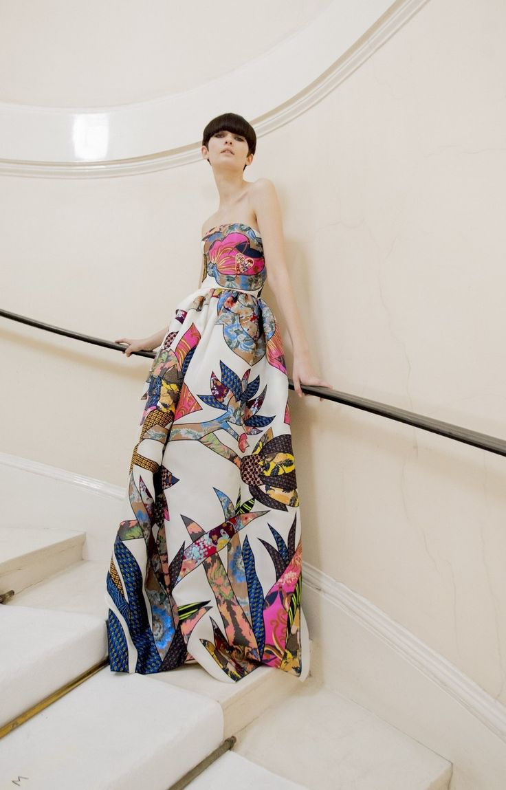 Backstage at Schiaparelli Haute Couture. Photos by Kevin Tachman.