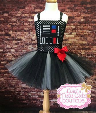 costume jewellery Darth Vador Inspired Tutu Dress Star Wars Tutu Dress Party Dress Comic Con Halloween by LisasTutus on Etsy