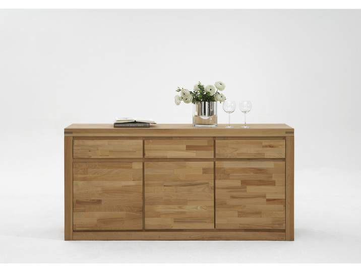 Elfo Sideboard Delft Mit 3 Schubkasten 3 Turen In Holz Massivholz Kern Home Decor Decor Furniture