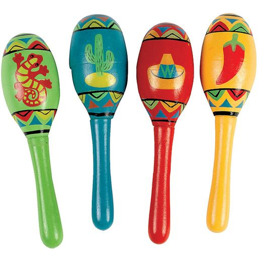 Maracas - Mexican Party Supplies at Amols' Fiesta Party Supplies