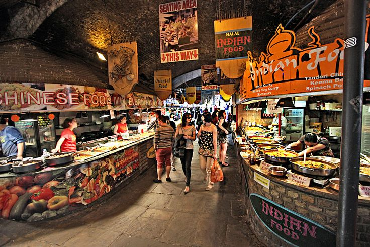 Attracting more than 100,000 visitors each week, the Camden Market is the fourth most popular tourist attraction in London