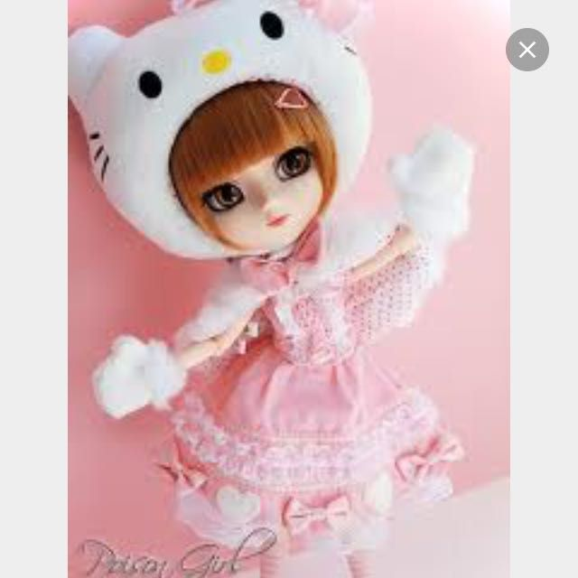 Pullip Hello Kitty Xmas Promo ❄️❄️⛄️, Games & Toys on Carousell