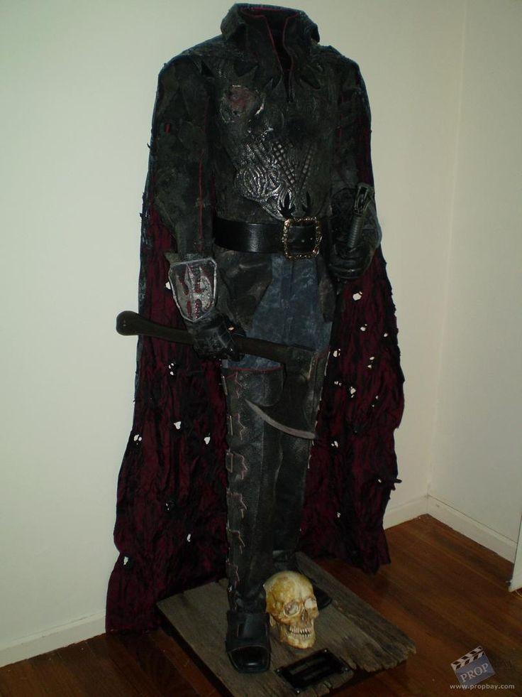 headless horseman costume wardrobe from sleepy hollow