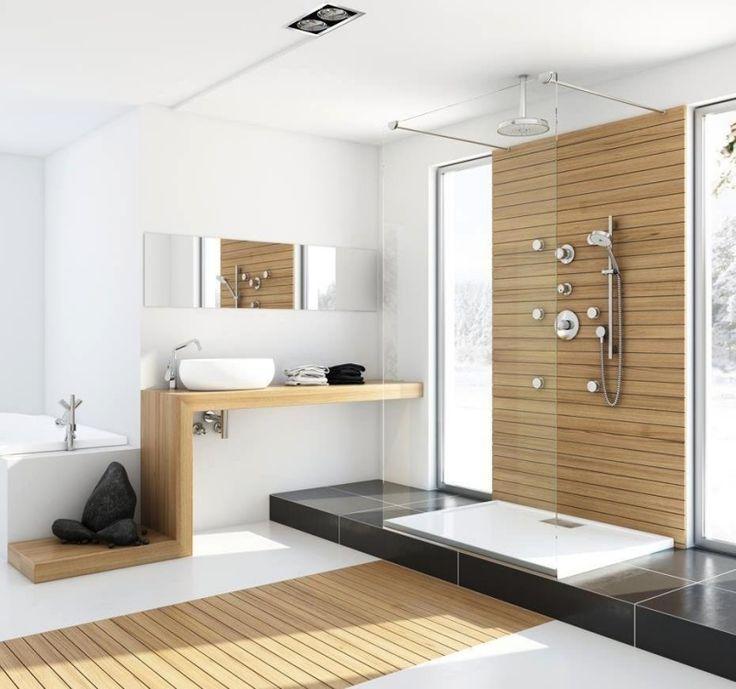 holzboden im bad | selbst.de. badezimmer : schönes holzboden ...