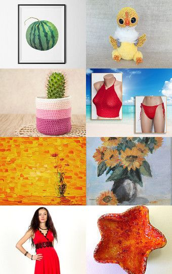 My chicken was added to Hot summer by Vladimir on Etsy