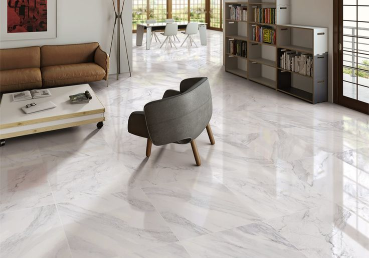 Living Room Floor Tiling by iMola Tiling