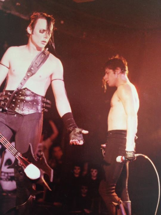 Glenn Danzig and Jerry Only of The Misfits in Detroit 1982, previously unpublished from a friends personal collection