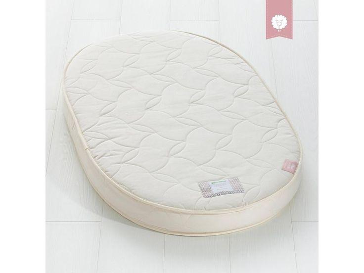 The Little Green Sheep Natural Twist Stokke Sleepi Oval Cot Mattress 68x120cm