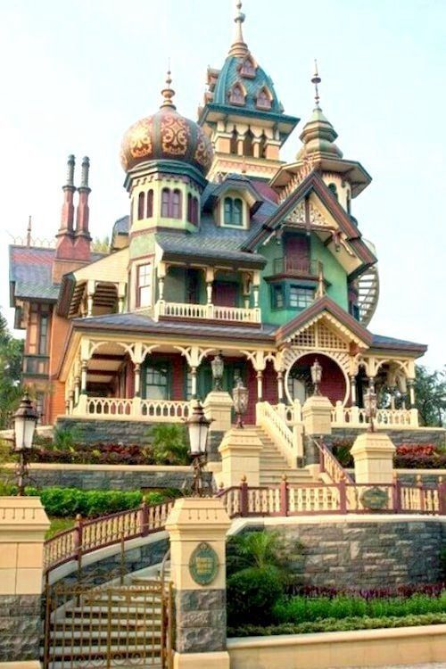 Victorian Houses of every color! Enjoy RushWorld boards, EYE CANDY ARCHITECTURAL MASTERPIECES, SPELLBINDING ART INSTALLATIONS and UNPREDICTABLE WOMEN HAUTE COUTURE. See you at RushWorld on Pinterest! New content daily, always something you'll love!