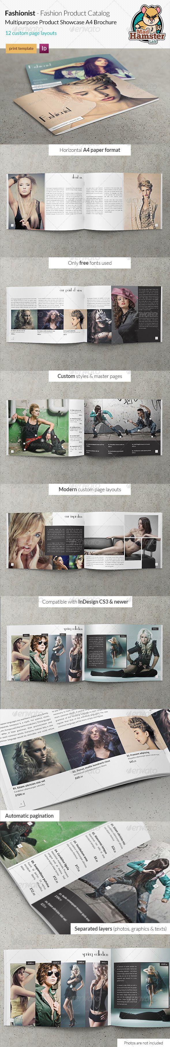 Fashionist - Fashion Product Catalog / Showcase - Corporate Brochures