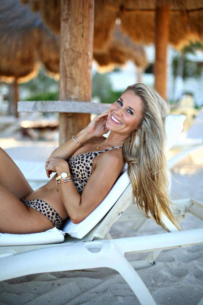 International Women's Day + leopard bikini - OliviaRink.com