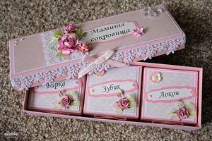 Мамины сокровища для девочки