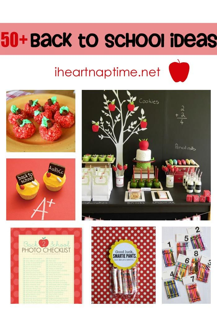50+ awesome back to school ideas on I Heart Nap Time #school