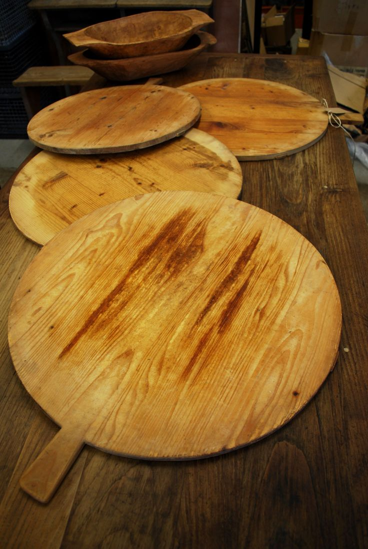 Dutch Cheese Boards, made from Baltic Pine - Vintage Industries