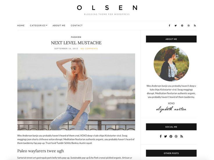 138 best Free Blog Template images on Pinterest | Free blog, Blogger ...