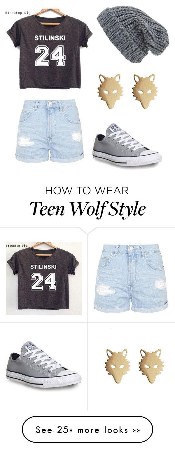 """Teen Wolf!!!"" by allicat324 on Polyvore featuring Topshop, Converse and Phase 3"