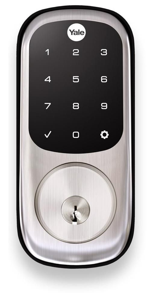 Yale YRD226HA2619KWKD Single Cylinder Touchscreen ZigBee Deadbolt