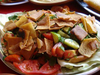 Восточный салат «Фатуш»
