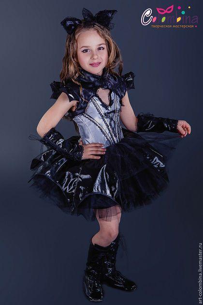 Купить или заказать Костюм летучей мыши в интернет-магазине на Ярмарке Мастеров. Карнавальный костюм летучей мышки для девочки. комплектация: платье, болеро, ушка, нарукавники Сапожки продаются отдельно 134-146 +300…